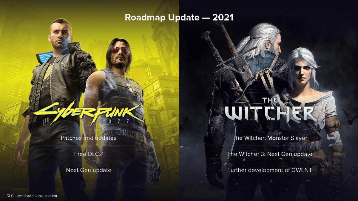 Cyberpunk 2077 und The Witcher stehen im Fokus