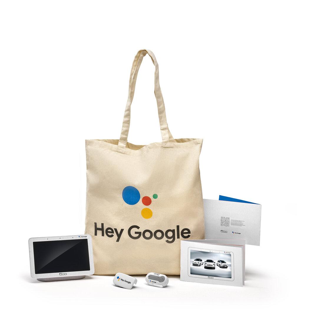 Fiat 500 Hey Google Welcome Kit
