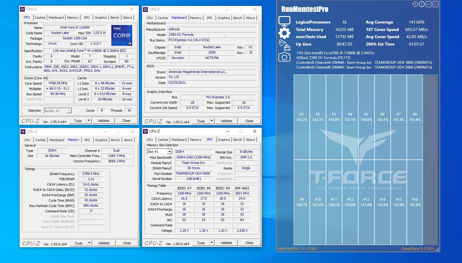 Team Group T-Force Xtreem (DDR4-5600)