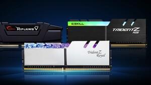 Trident Z Royal, RGB & Ripjaws: G.Skill beschleunigt 16-GB-Kits auf 5.333 MHz bei 1,6 Volt