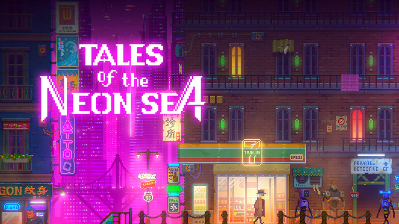Tales of the Neon Sea: Epic Games verschenkt Indie-Game im Cyberpunk-Setting