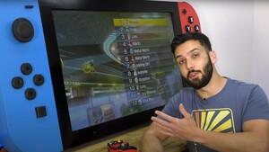Nintendo Switch: Bastler baut Spielkonsole im Schreibtischformat