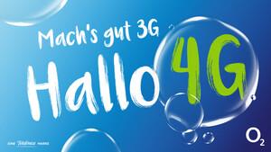Mach's gut 3G! Hallo 4G!: O2 lockt Kunden mit Wechselangeboten