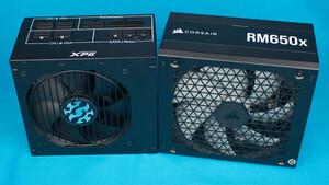 650-Watt-Netzteile im Test: Corsair RM650x und XPG Core Reactor 650W im Gold-Duell