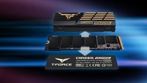 Cardea A440: Team Group bringt PCIe-4.0-SSD mit zwei Kühlern