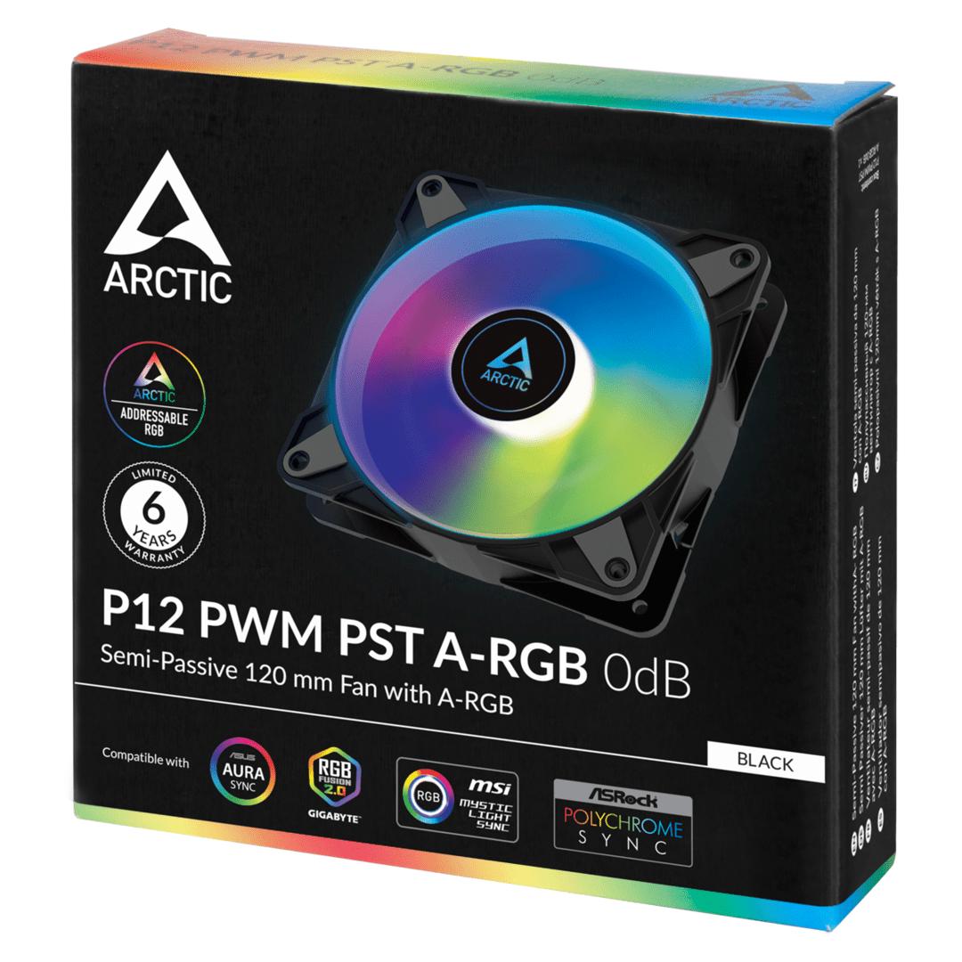 Arctic P12 PWM PST ARGB 0 dB