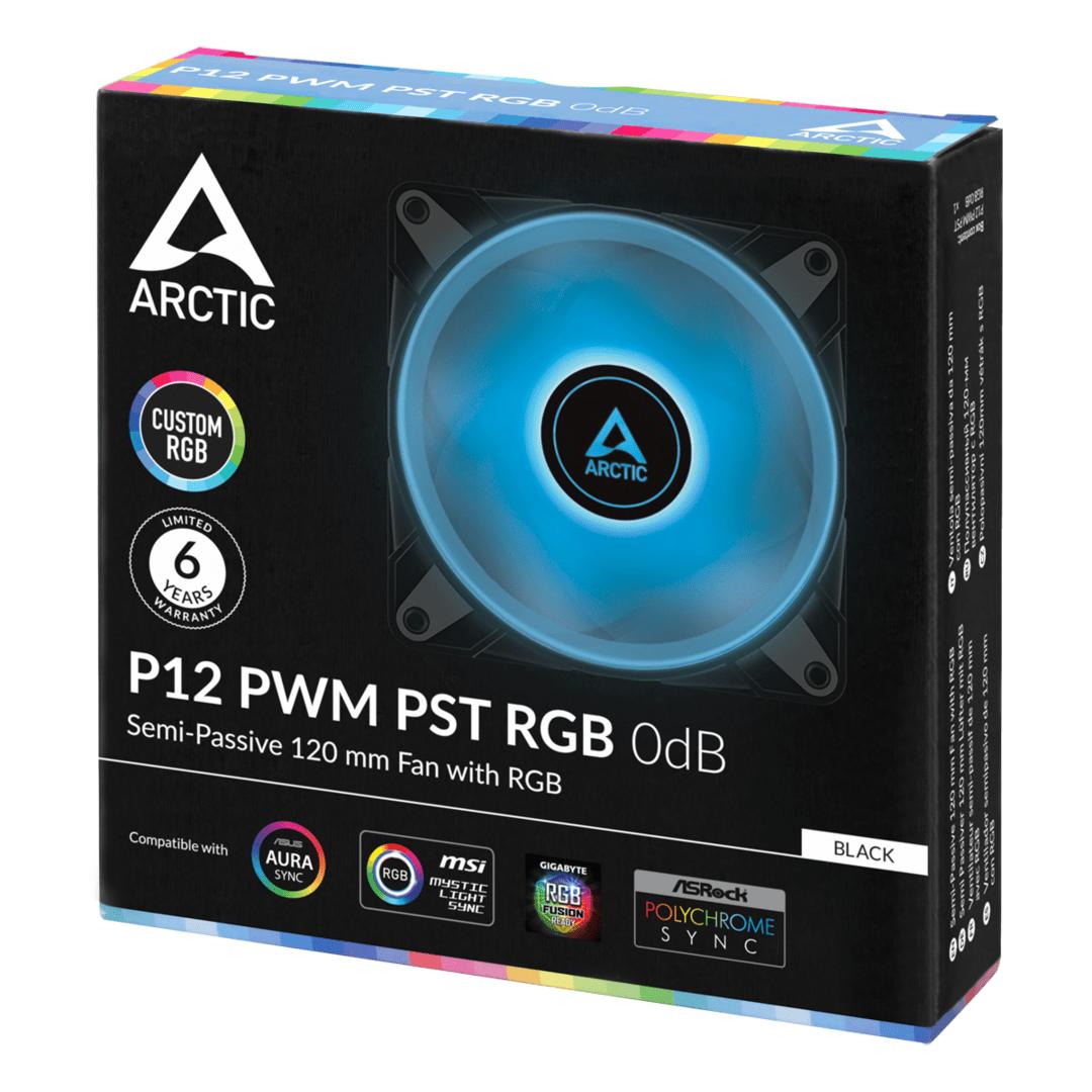 Arctic P12 PWM PST RGB 0 dB
