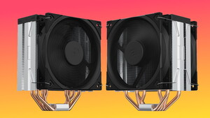 SilentiumPC Fera 5 (Dual): Schlichter Tower-Kühler kann seinen Lüfter stoppen