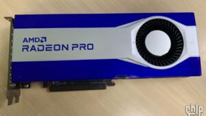 Navi 21 GLXL: Neue Radeon Pro mit RDNA-2-Architektur zeigt sich im Bild
