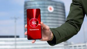 """5G Standalone: Vodafone startet """"echtes 5G"""" ohne LTE-Anker im Kernnetz"""