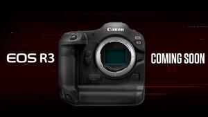 Canon: Spiegelloser Bolide EOS R3 und drei Objektive vorgestellt
