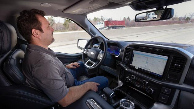 BlueCruise: Ford bietet freihändiges Fahren für 600US-Dollar an