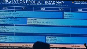 Workstation-Roadmap: Intel plant mit Alder Lake und Sapphire Rapids für 2021