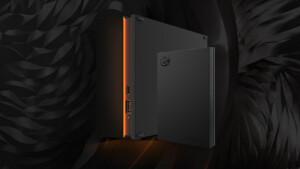 Seagate FireCuda Gaming: Auch externe HDDs für Spieler können mit RGB-LEDs leuchten