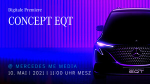 Concept EQT: Mercedes plant elektrischen City-Van mit MBUX 2.0
