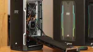 Corsair One a200: Turmbau zu Ryzen 5000 und GeForce RTX 3000