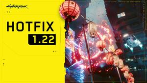 Cyberpunk 2077: PC, Konsolen und Stadia erhalten Hotfix 1.22