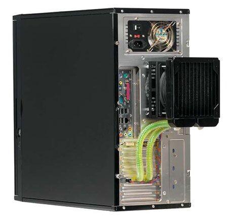 Corsair Wasserkühlung im PC verbaut