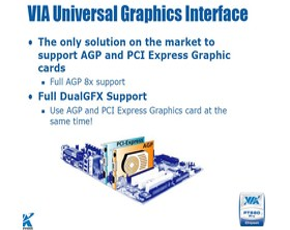 Sowohl AGP- als auch PCI Express