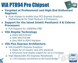 Features des PT894 Pro