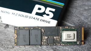 Crucial P5 im Test: Noch keine MX500 für den M.2-Steckplatz mit NVMe