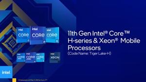 Tiger Lake-H(45): Für Notebooks gibt es jetzt 10-nm-CPUs mit bis zu 8 Kernen