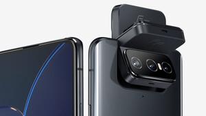 Asus Zenfone 8 Flip: Großes Smartphone kommt erneut mit Klapp-Kamera
