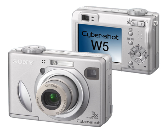 die neue Sony Cyber-shot W5