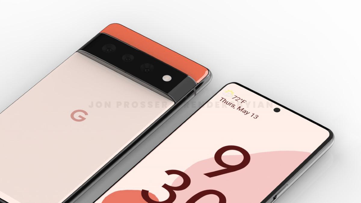 Zowel Pixel 6 als Pixel 6 Pro krijgen een nieuw ontwerp