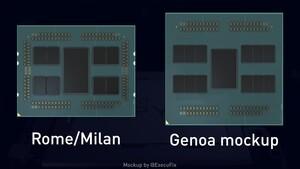 AMD Epyc 7004: Embedded-Roadmap bestätigt über 64 Kerne für Genoa