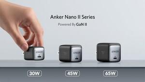 Nano II Series: Anker schrumpft die USB-C-GaN-Netzteile deutlich