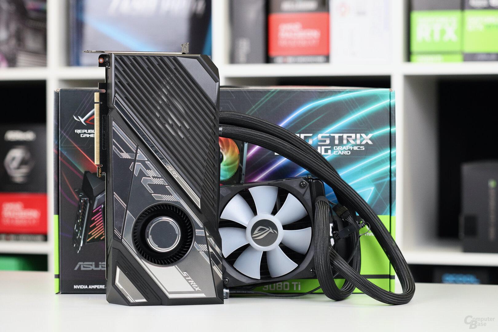 Die Asus GeForce RTX 3080 Ti Strix LC im Test
