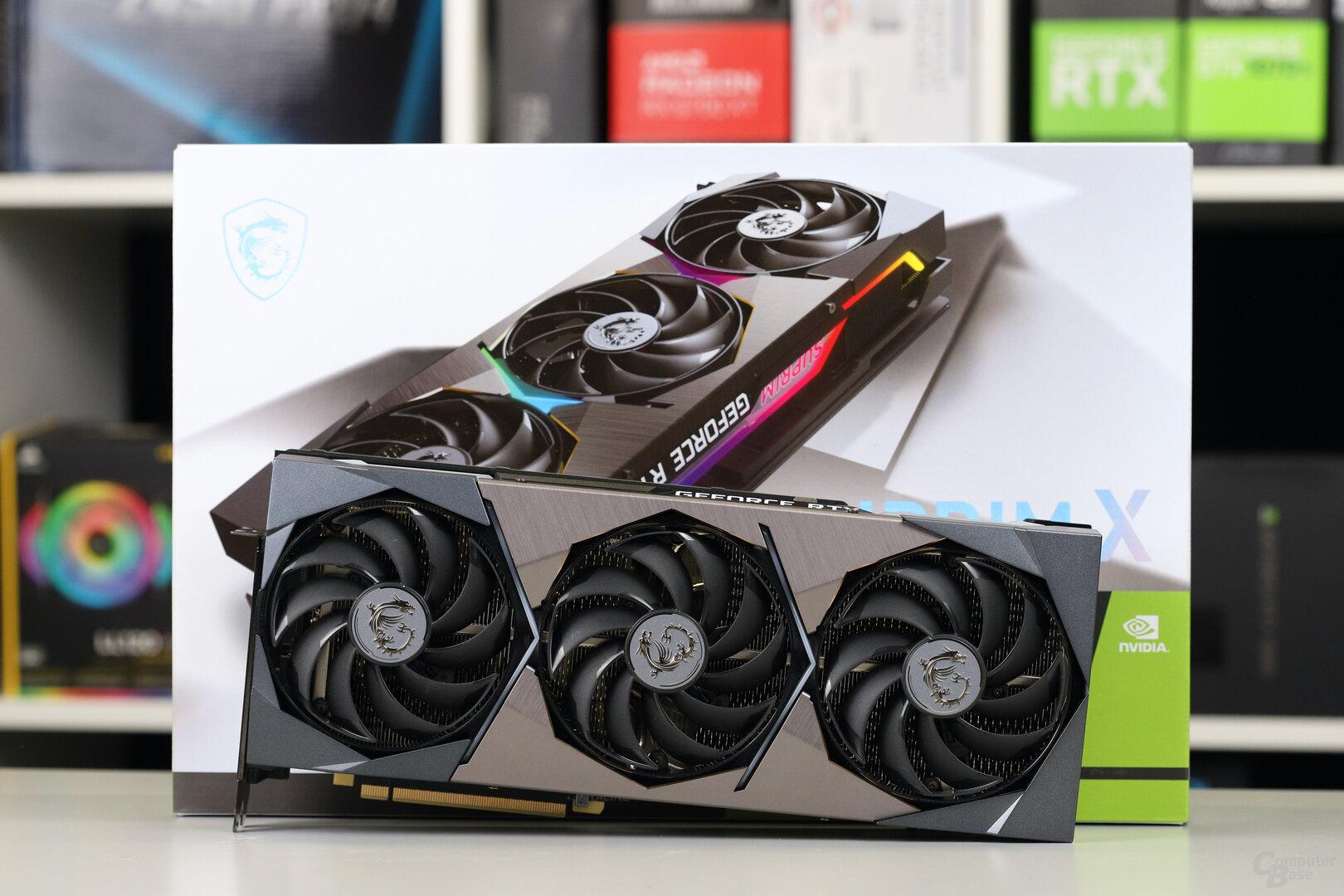 Die MSI GeForce RTX 3080 Ti Suprim X im Test