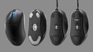SteelSeries Prime(+) & Wireless: Drei Mäuse haben optisch-magnetische Schalter