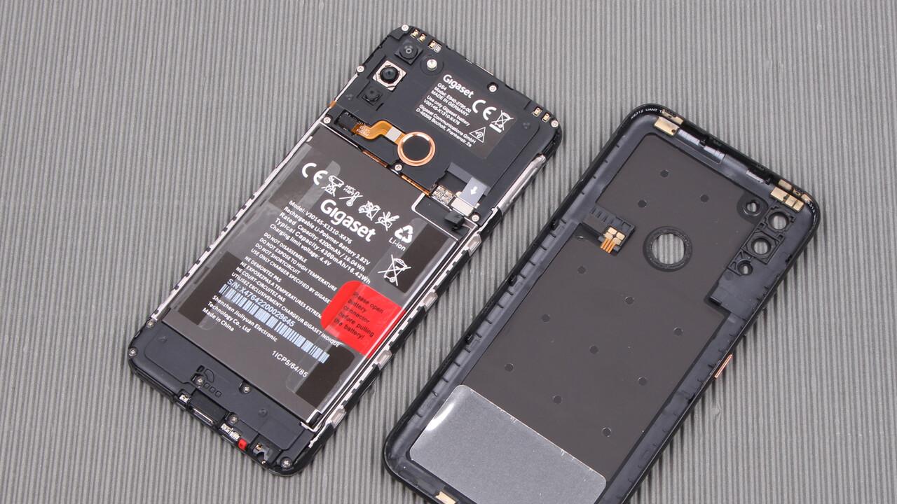 Gigaset GS4 im Test: Smartphone made in Germany mit austauschbarem Akku