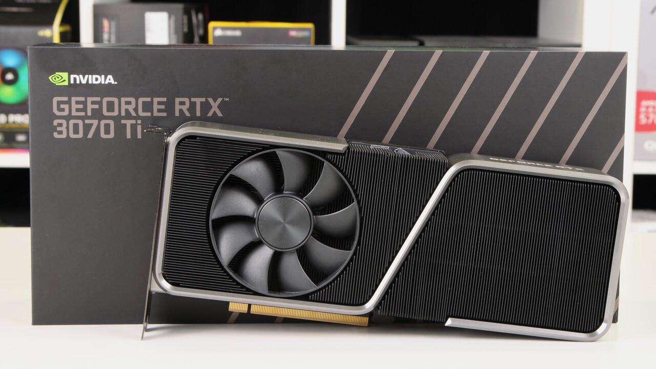 GeForce RTX 3070 Ti FE im Test: Das Mini-Upgrade, das nur 2021 funktioniert