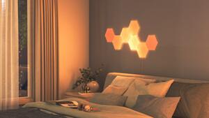 Nanoleaf: Neue Lightpanels in Holzoptik sorgen für Kamin-Optik