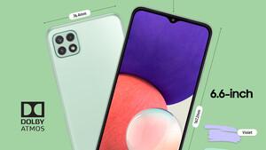 Galaxy A22: 5G-Smartphones gibt es bei Samsung jetzt ab 230Euro