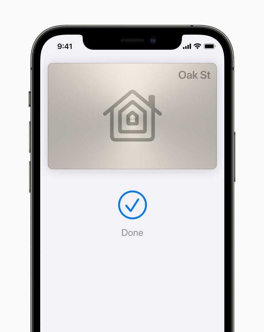 Apple Wallet Hausschlüssel