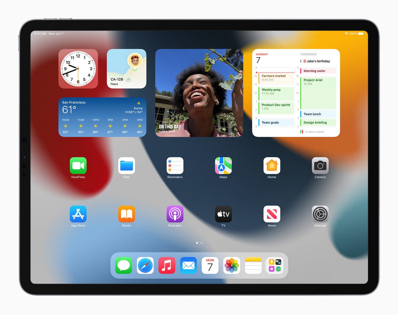 iPadOS 15: Homescreen mit Widgets