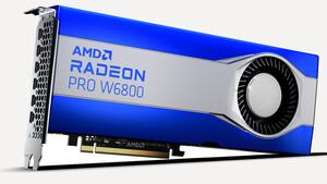 AMD RDNA 2: Radeon Pro W6800 und W6600 starten im Profi-Bereich