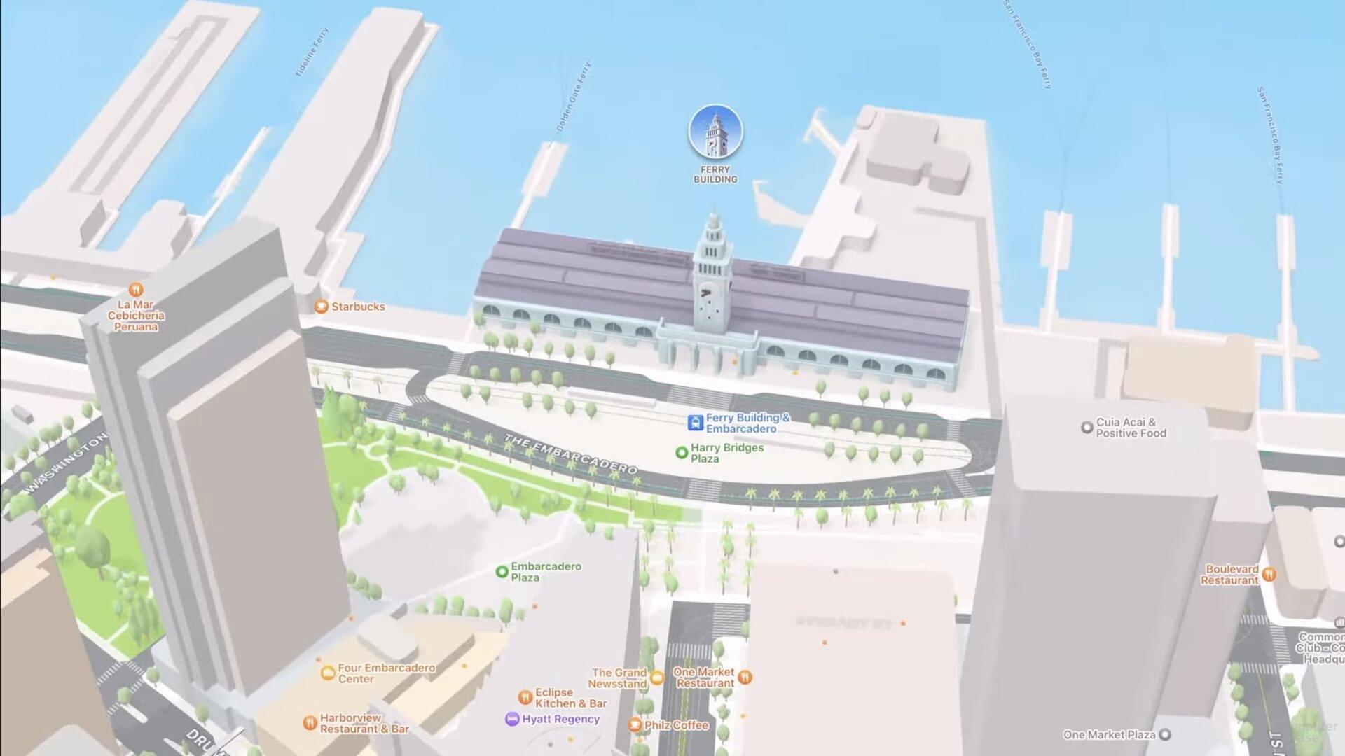 SF Ferry Building (iOS 15)