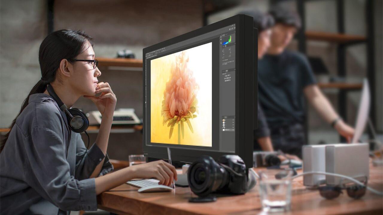 Sharp 8M-B32C1: 8K-Monitor liefert 1.000Nits für HDR-Profis