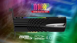 M10P mit Innogrit: Plextor meldet sich mit drei PCIe-4.0-SSDs zurück