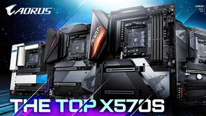X570S von Gigabyte: Fünf X570-Mainboards ohne aktive Kühlung neu aufgelegt