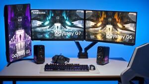 Odyssey G30A, G50A, G70A: Curved bei neuen Samsung-Monitoren kein Thema mehr