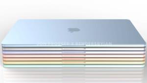 """MacBook Air mit Apple """"M2"""": Der nächste Flachmann soll schneller und bunter werden"""