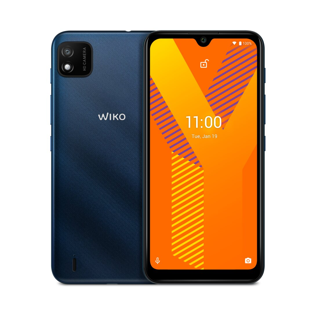 Wiko Y62 in blu scuro