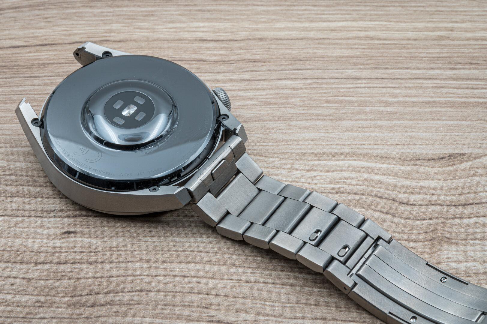 Huawei Watch 3 Pro im Test: Das Armband ist wechselbar