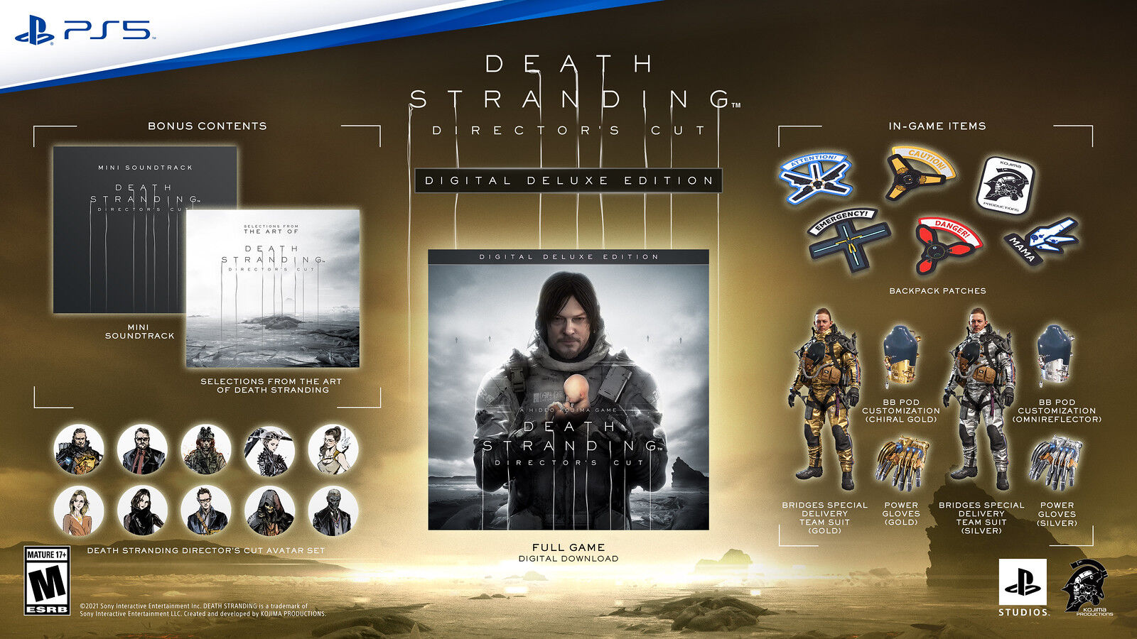 Death Stranding Director's Cut (Bild:Sony, Kojima Productions)